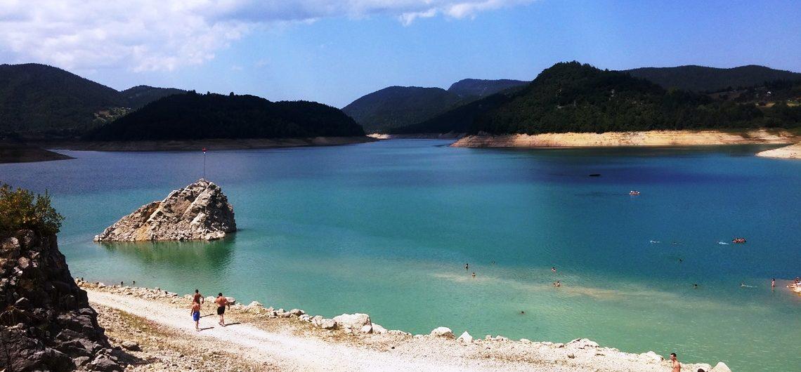 lake Zaovina Tara