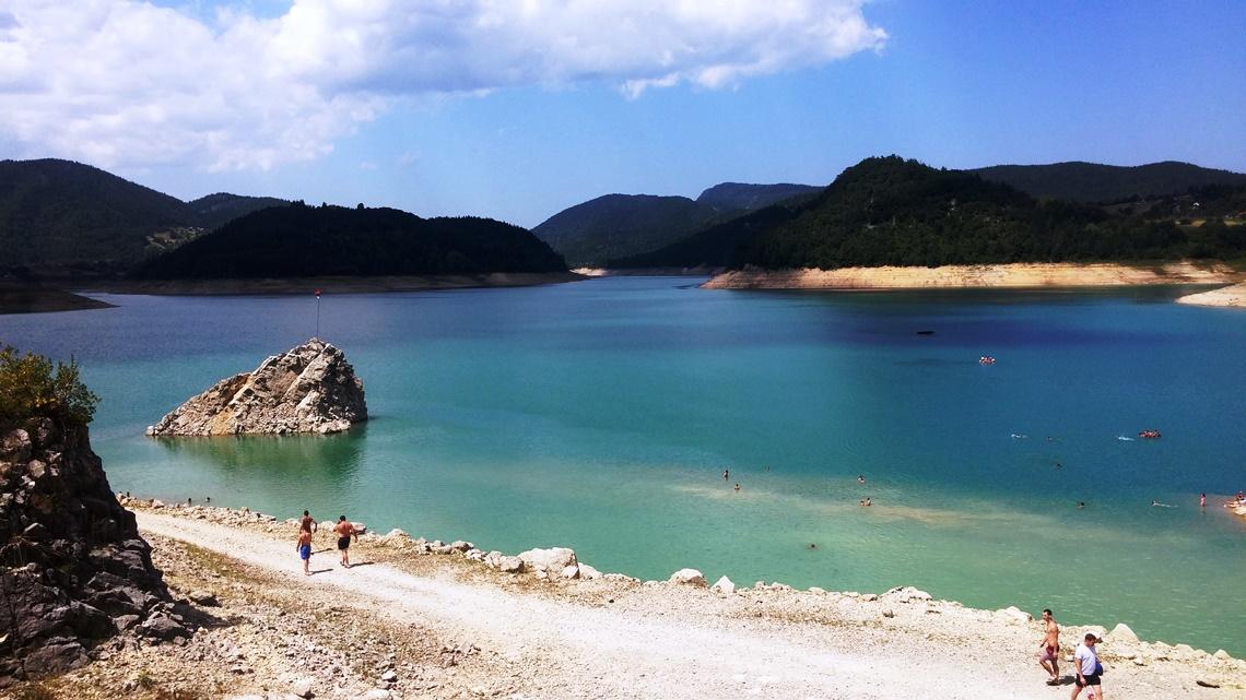 jezero Zaovine Tara, letovanje na Tari
