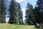 Kamena Gora, kamp
