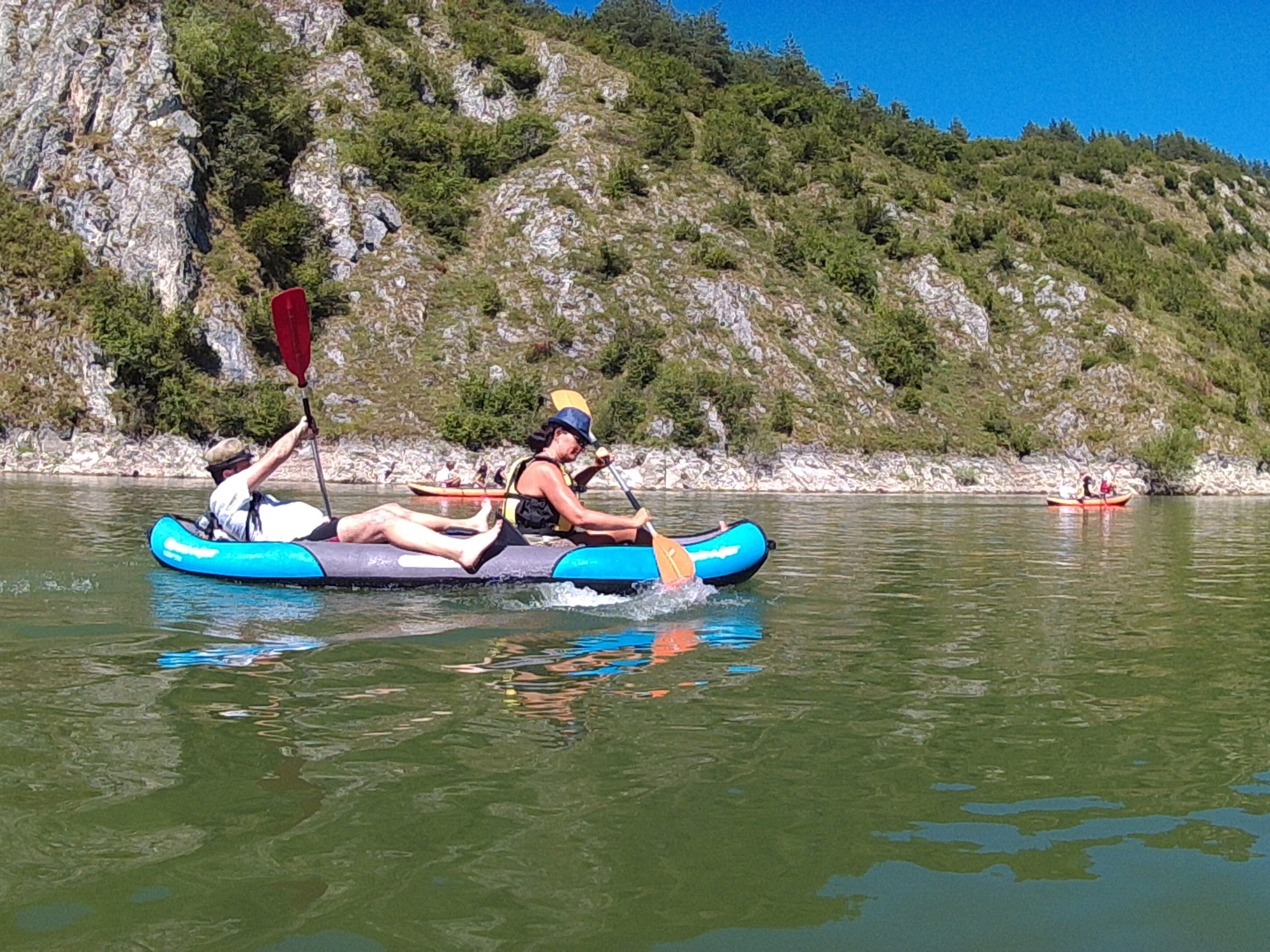 Uvac canyon kayaking