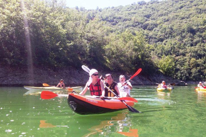 Uvac kayak adventure