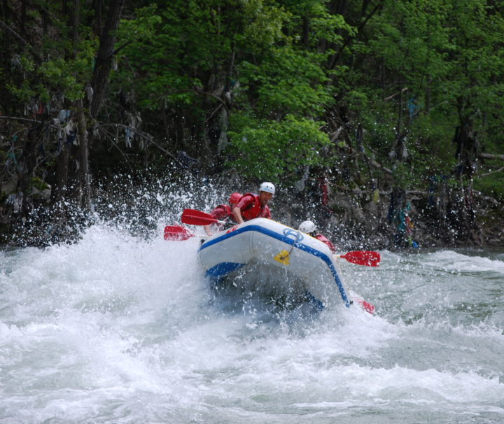 Rafting on the Lim River