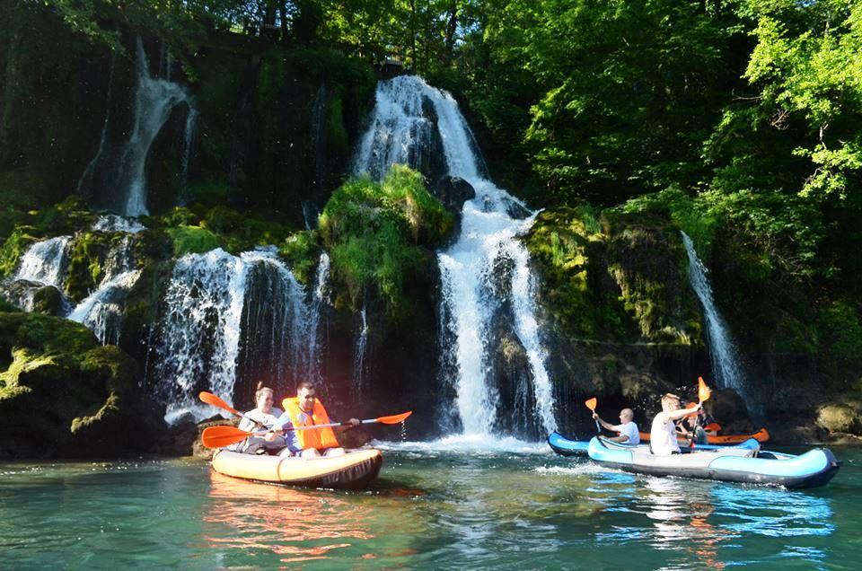 Drina kayaking