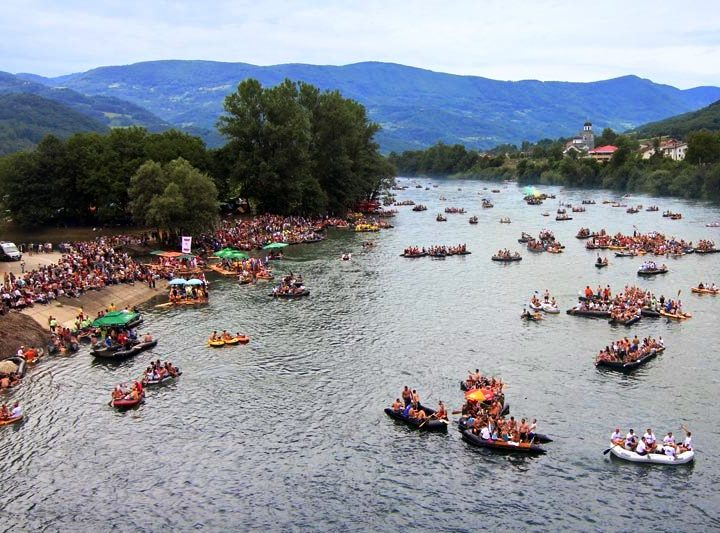 Drina regatta