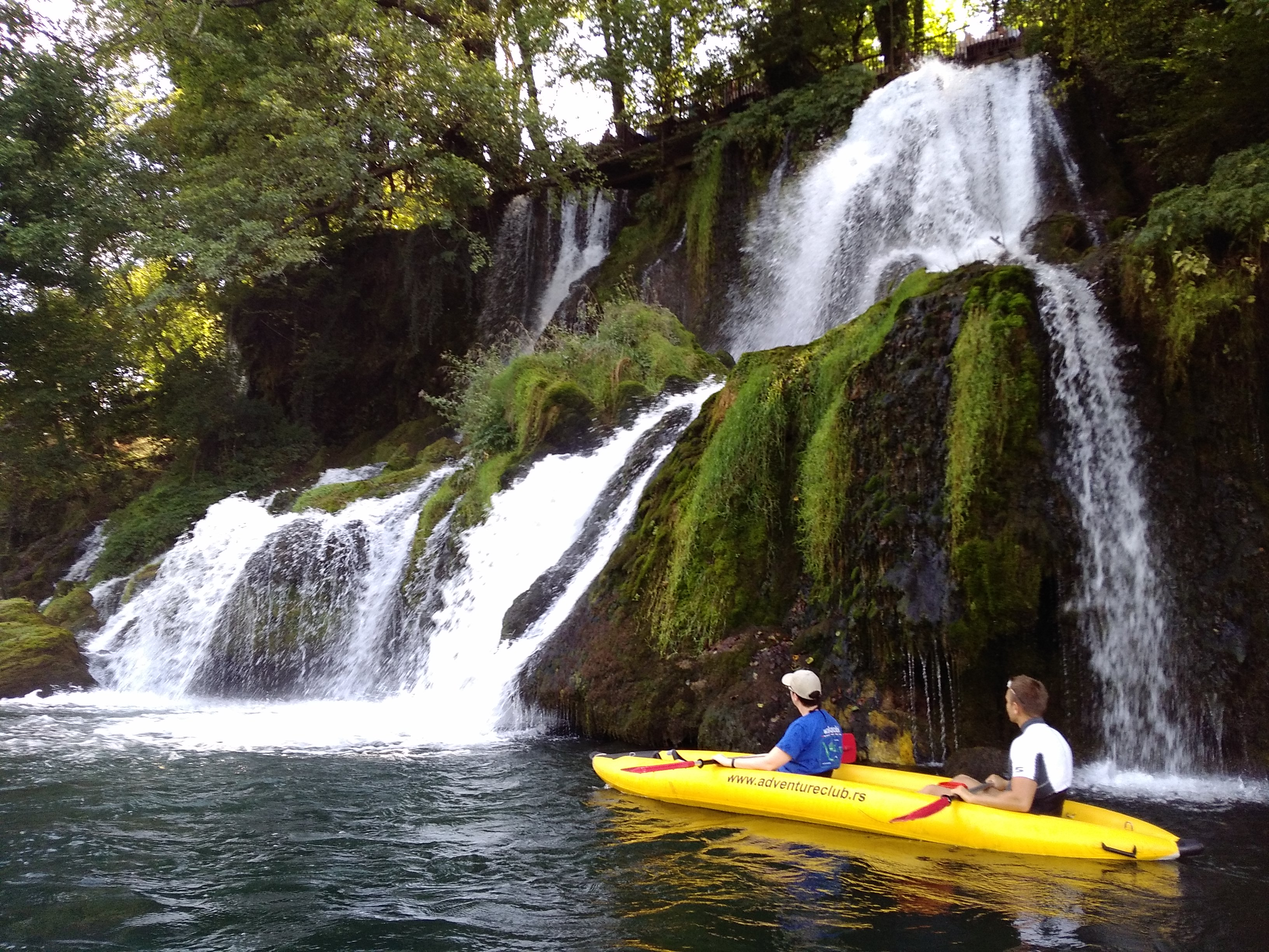 kayaking on the Drina