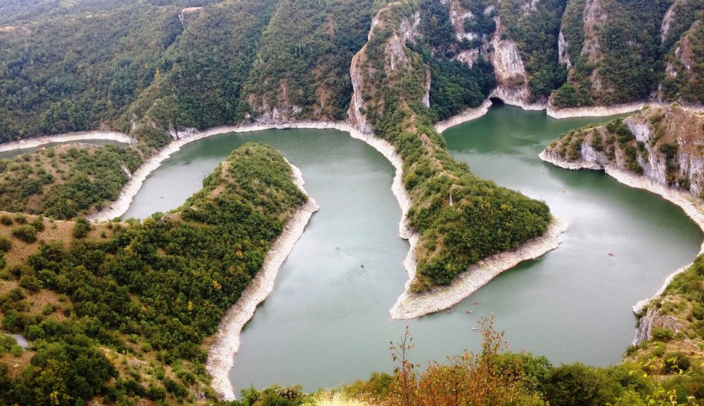 Meanders in the Uvac canyon