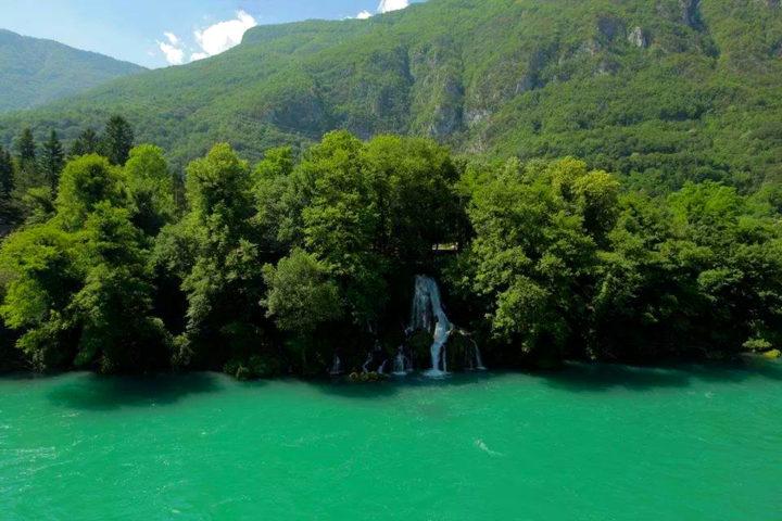 waterfall Vrelo, Tara