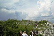 hiking on the Homoljske mountains
