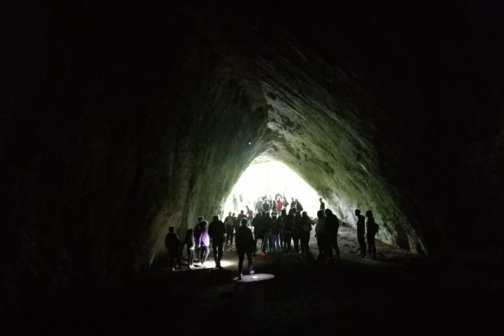 entrance to the Ice Cave Uvac