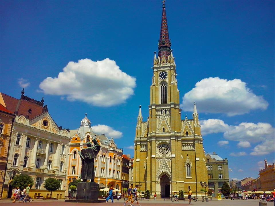 The Freedom Square, Novi Sad