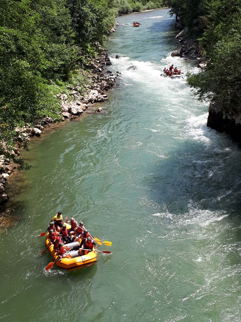 Active holiday in Western Serbia Lim rafting Serbia