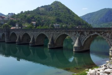 Visegrad Bridge Over Drina