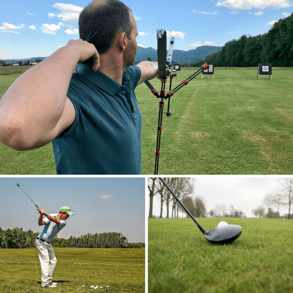 Tim building Serbia - golf and archery