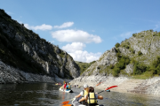 kayaking on Uvac
