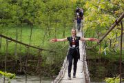 kanjon Nere viseći most