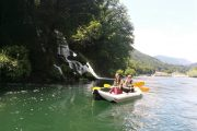 Perucac and Drina kayaking