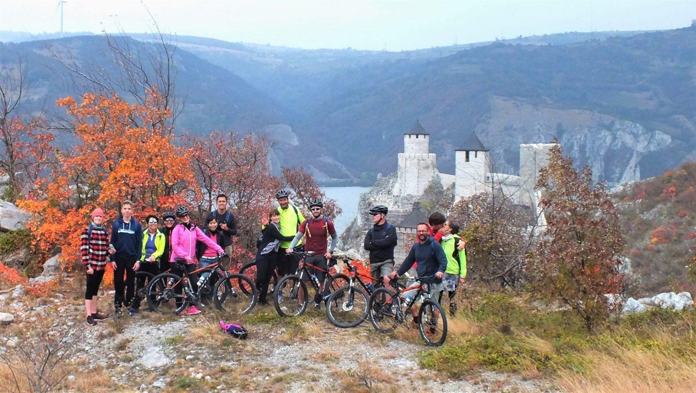 Golubački grad biciklizam Djerdap cycling