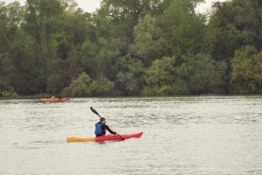 kayaking the Great War Island