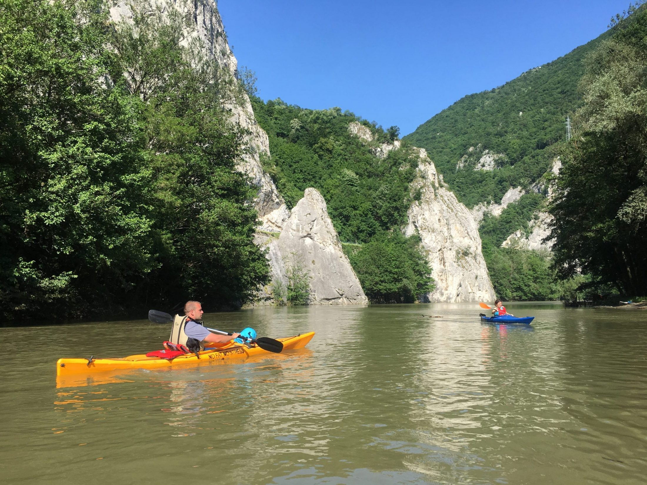 Ovcar-Kablar Gorge kayaking