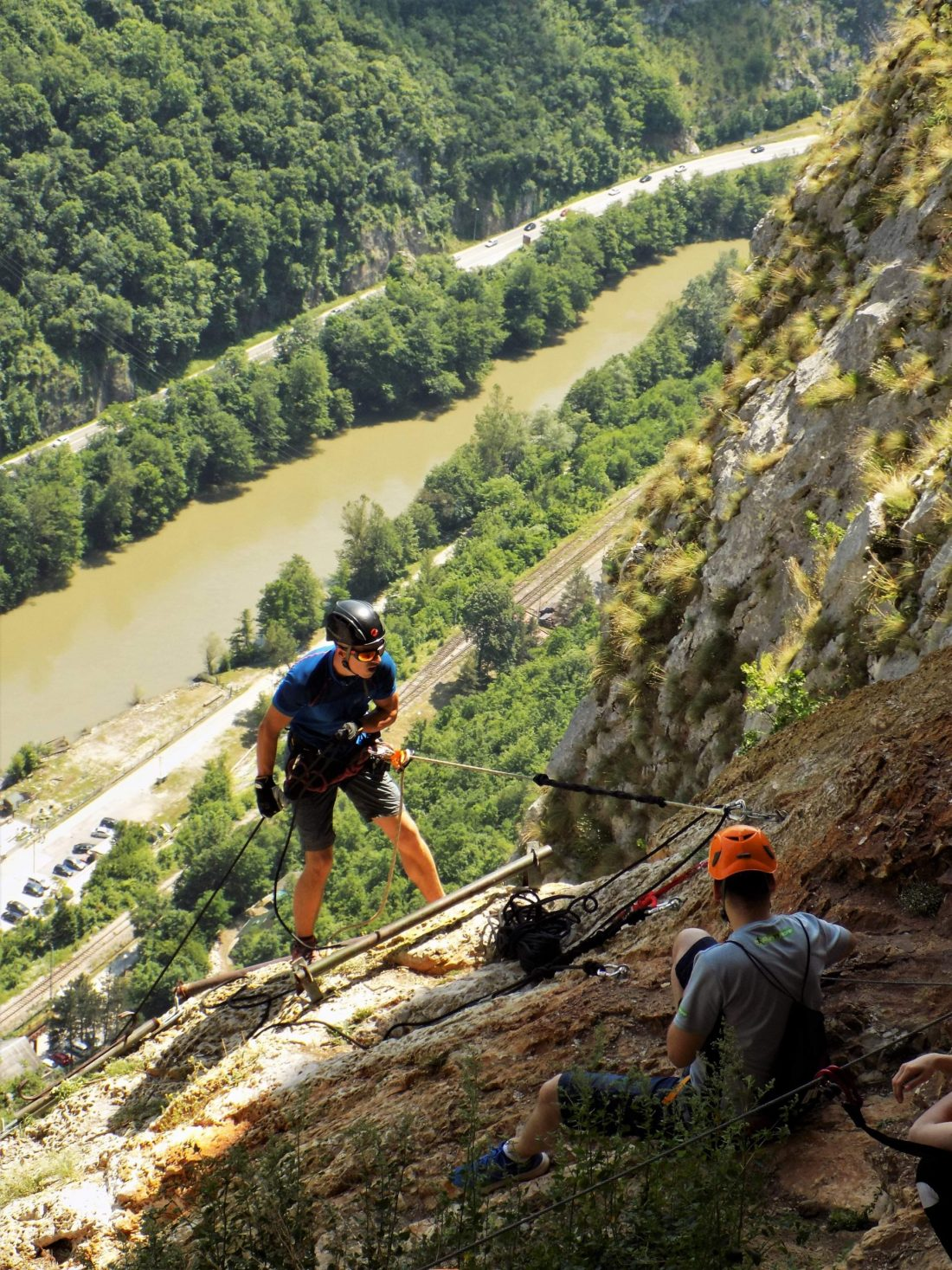 via ferrata na Kablaru