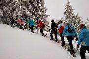 snowshoeing Serbia hodanje na krpljama Goč