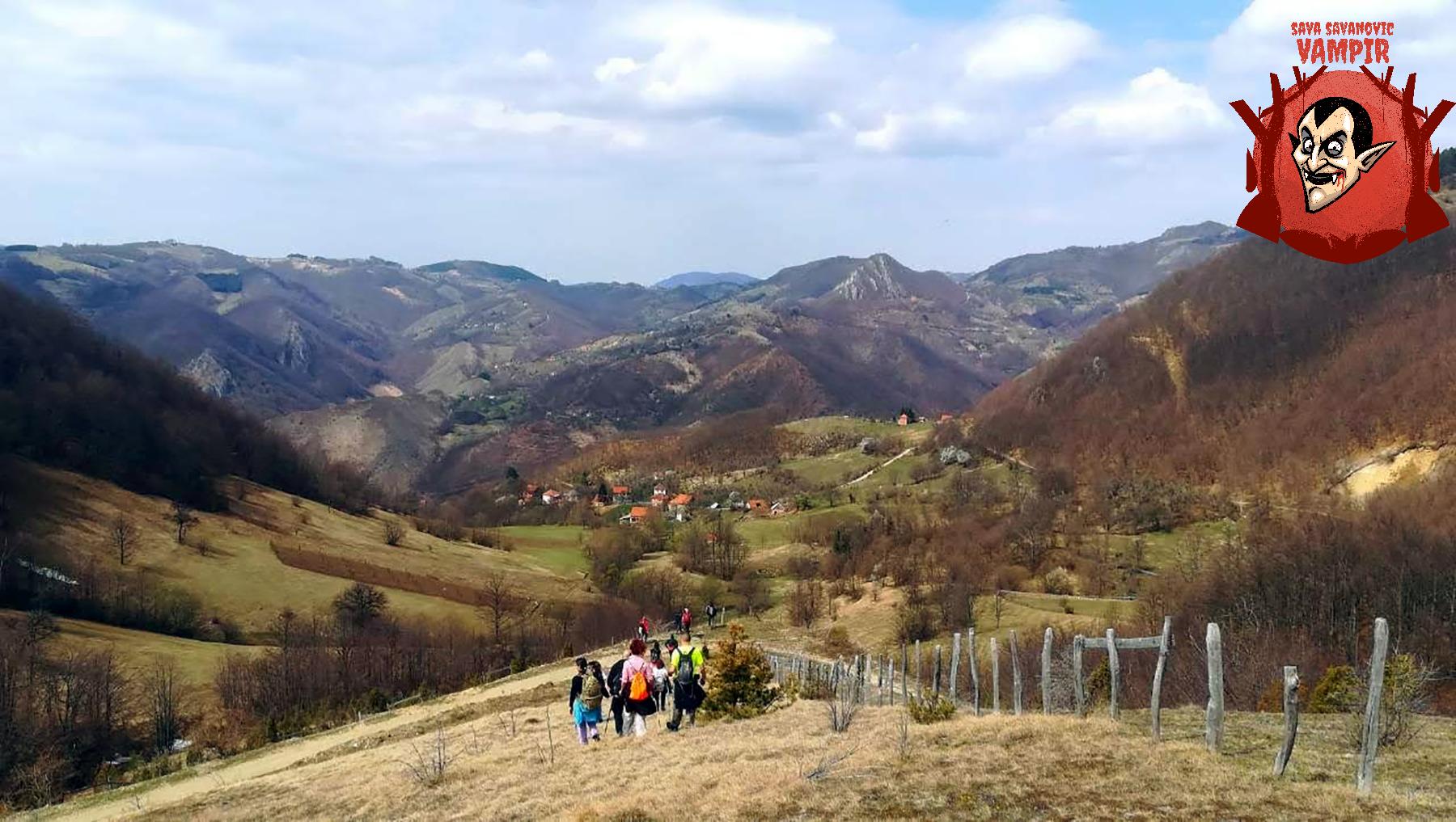 Kanjon Rogačice, Zarožje, vodenica Save Savanovića