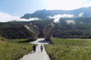 Tjentište-spomenik Bitke na Sutjesci