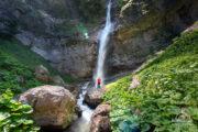 Vodopad Skakavac prašuma Perućica