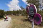 Tometino polje pešačenje, Maljen