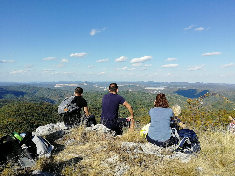 vrh Breza Homoljske planine